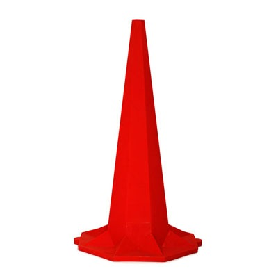 1.8m red meter cone